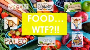 FOOD, DIET, NUTRITION LIFESTYLE and how they're all the SAME….