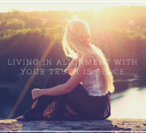 Your Key to Inner Peace: Living in ALIGNMENT